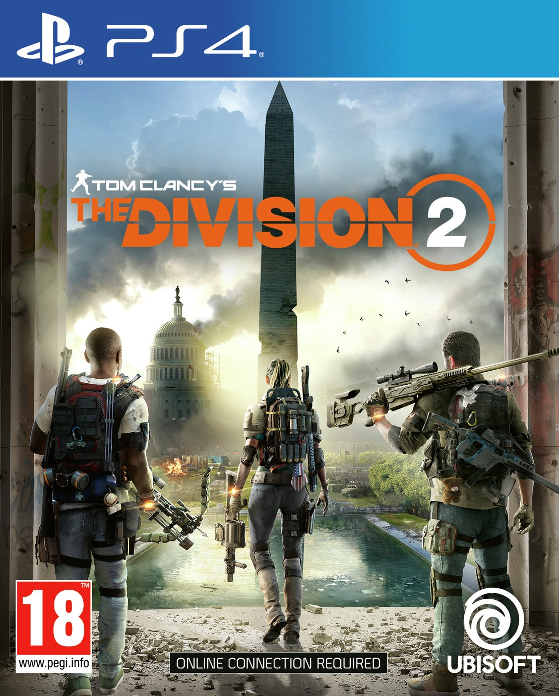 Tom Clancys The Division 2 PS4 Pre-Order Game