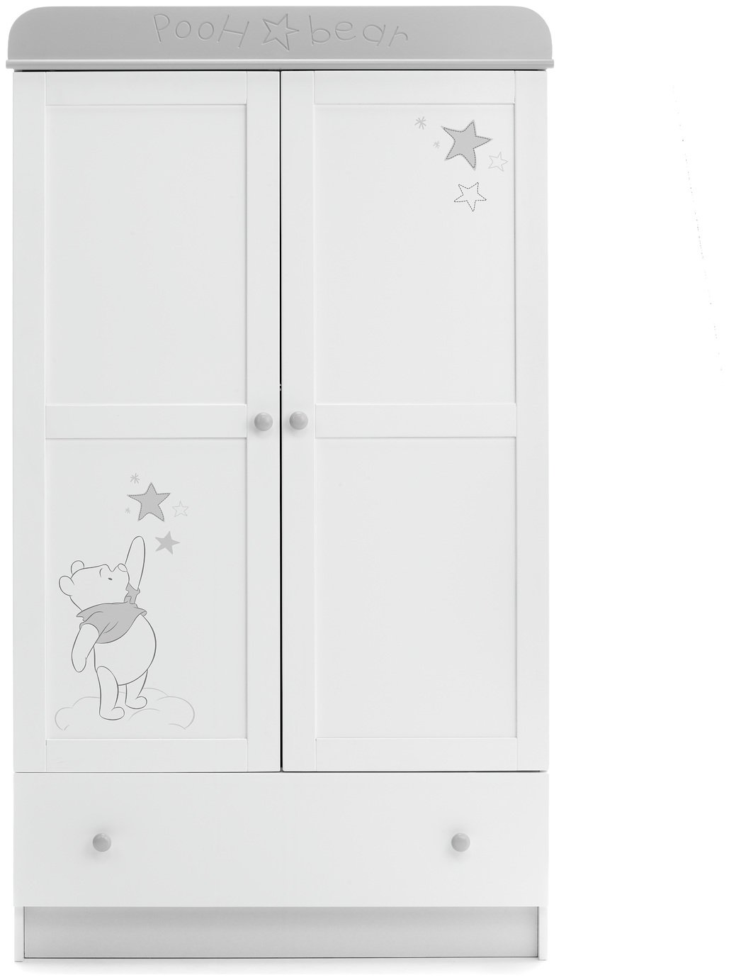 Image of Disney Winnie the Pooh Double Wardrobe - Dreams & Wishes