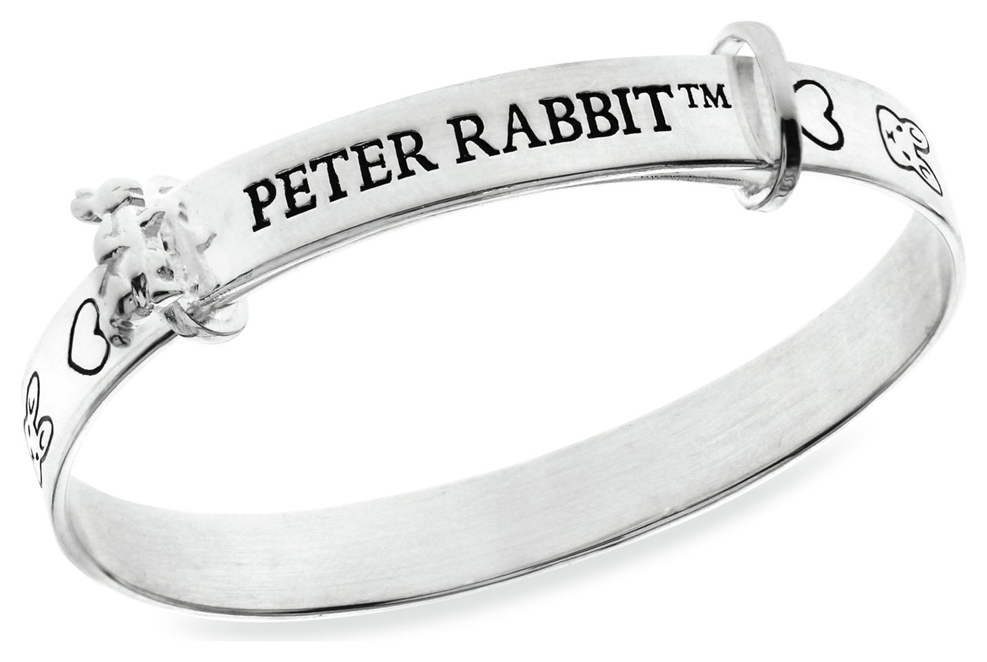 Beatrix Potter Sterling Silver Peter Rabbit Expander Bangle