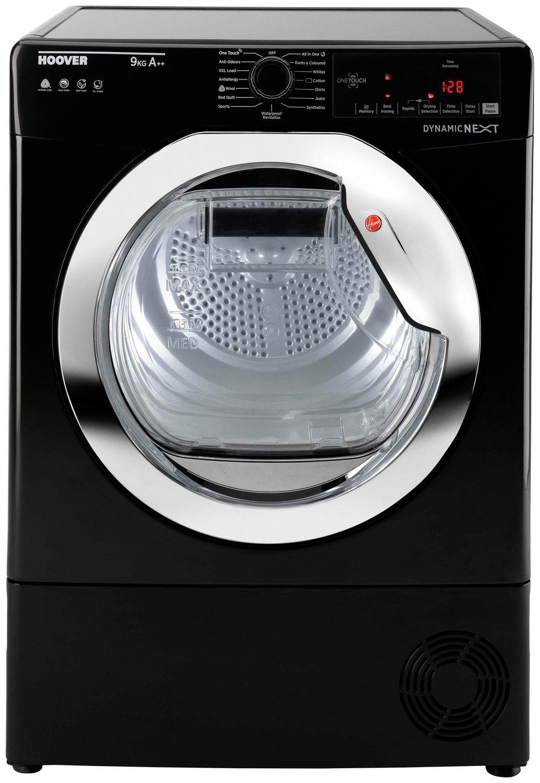 'Hoover Dxh9a2tceb 9kg Heat Pump Tumble Dryer - Black