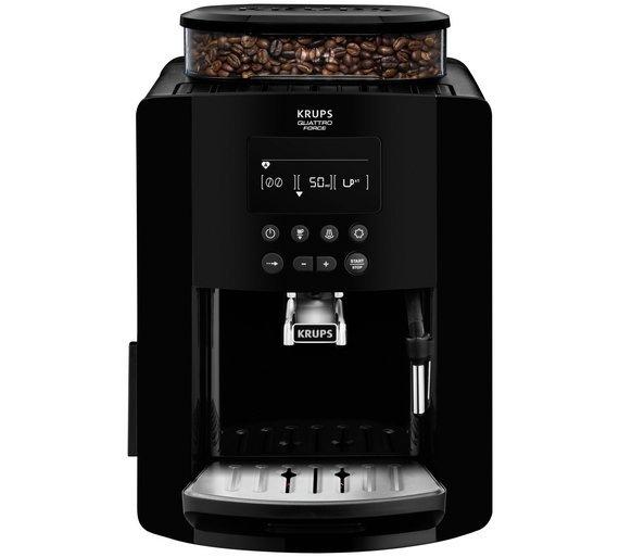 Image of Krups EA817040 Arabica Coffee Machine - Black