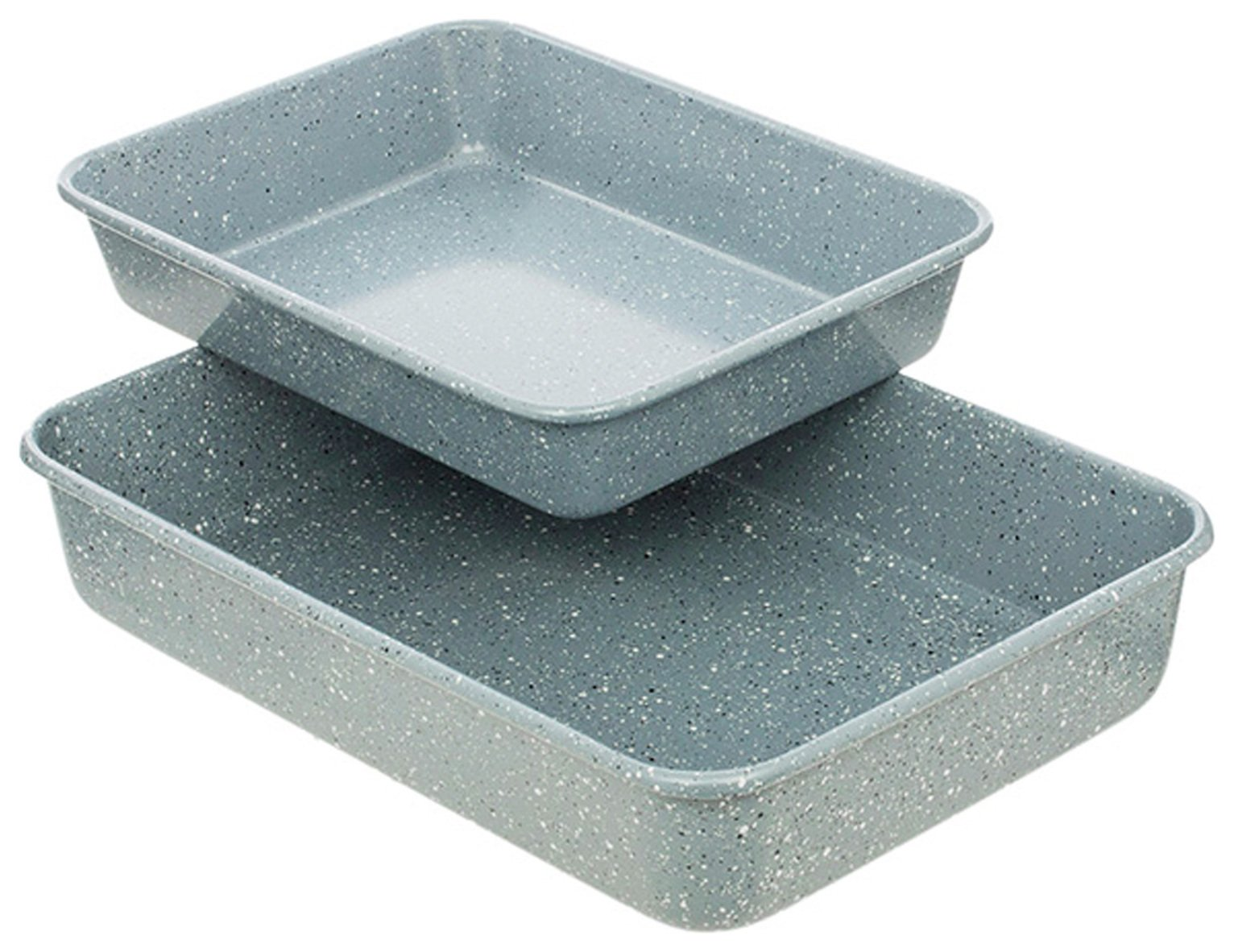 Sainsbury's Home 2 Piece Stone Effect Roaster Set