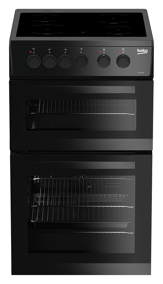 Beko KDC5422AK Electric Cooker - Black