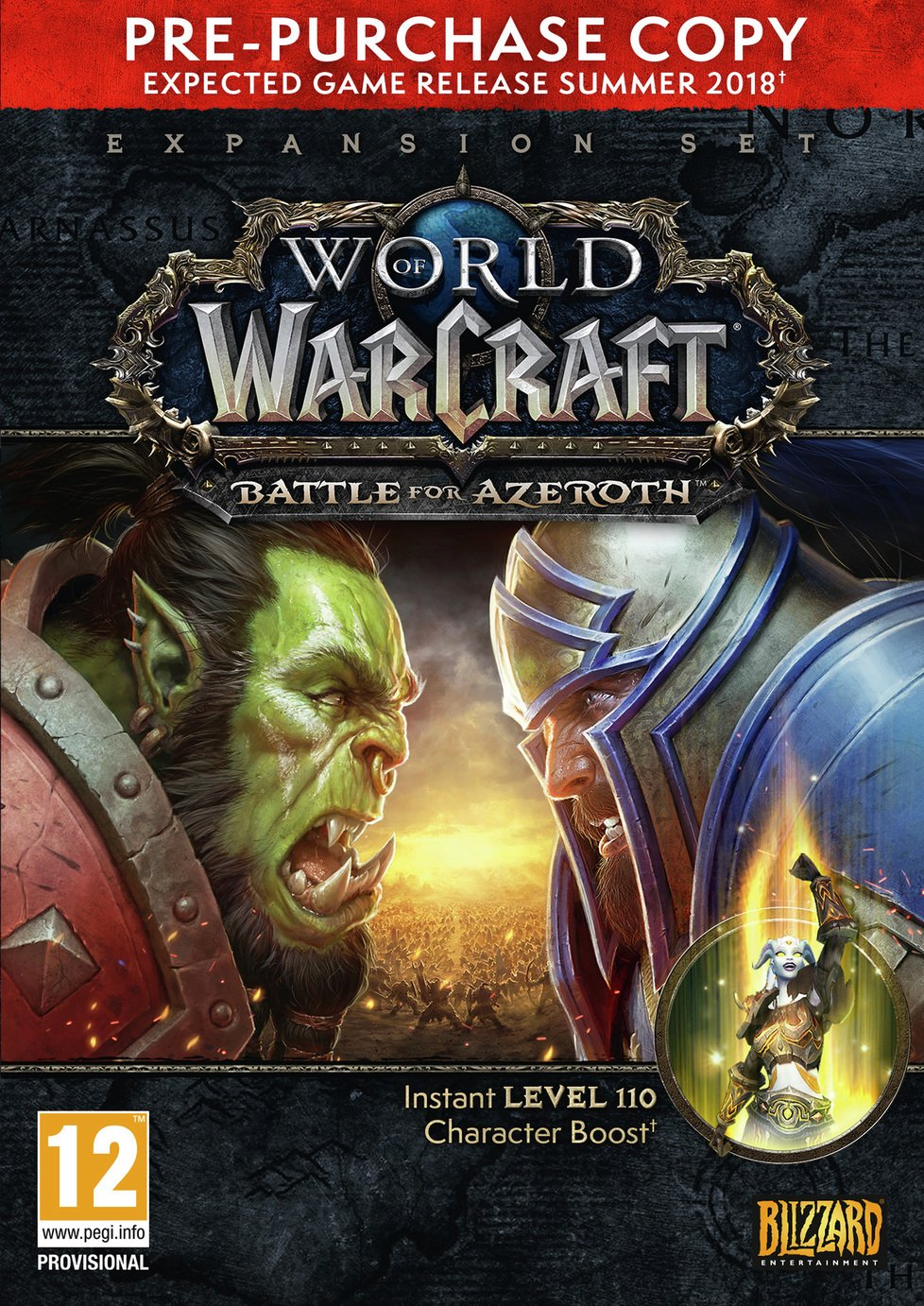 World of Warcraft: Battle for Azeroth Pre Order Code PC Game