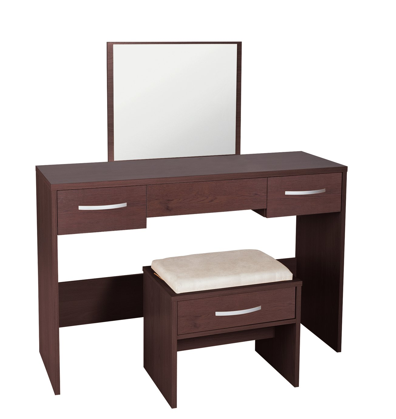 Image of Collection Hallingford Dressing Table - Wenge Effect