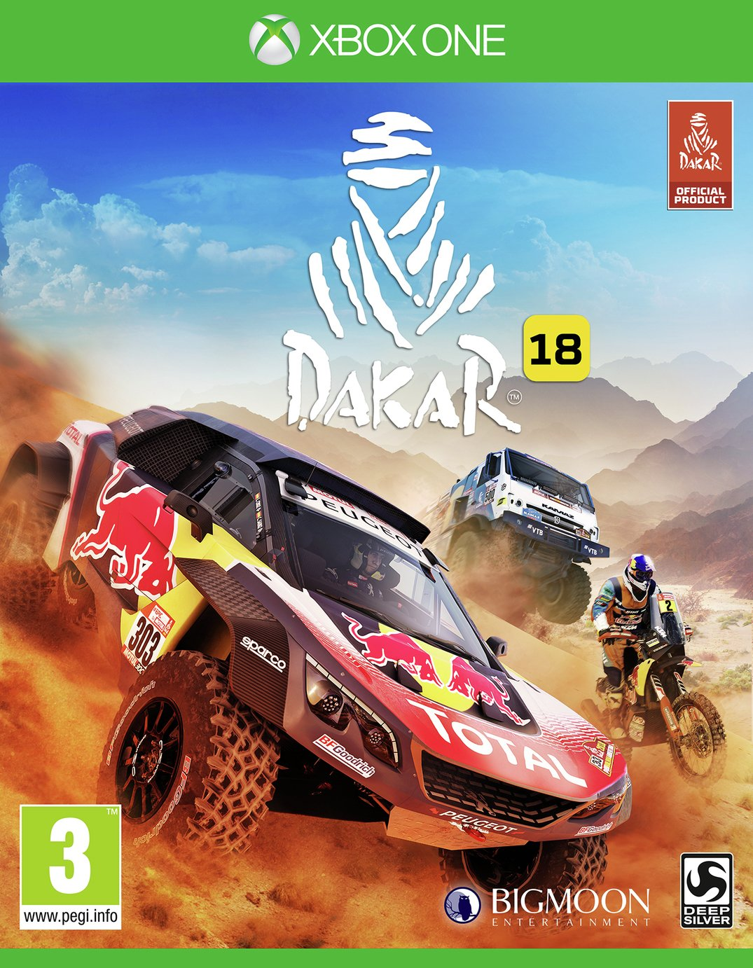 Image of Dakar 18 Xbox One Pre-Order Game