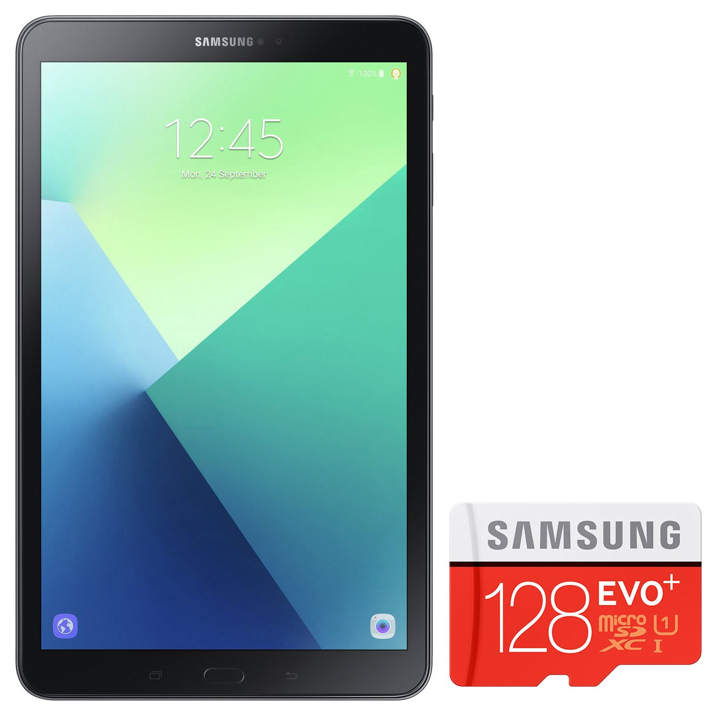 Samsung Galaxy Tab A 10.1 In 32GB Tablet & 128GB SD Card