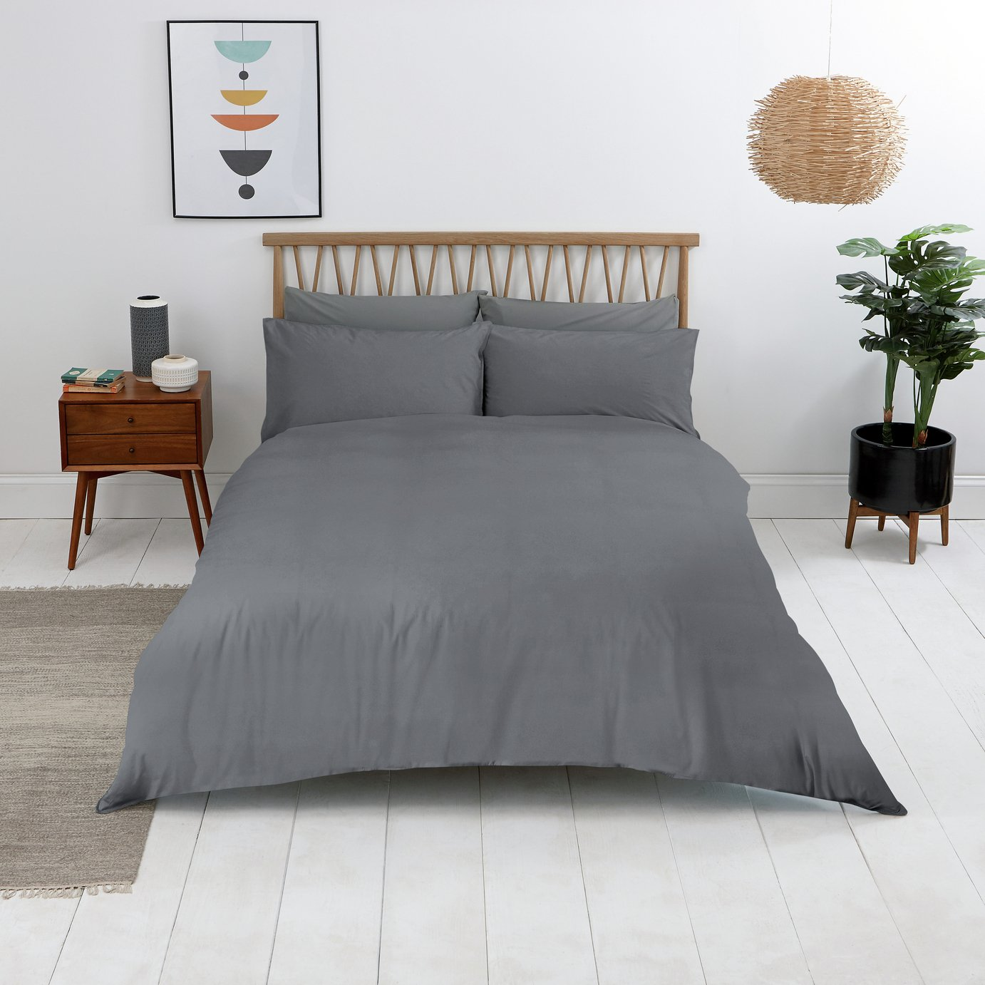 Sainsbury's Home Wash Cotton Bedding Set