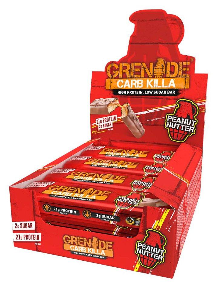Grenade Carb Killa Protein Bars Peanut Nutter - 12 x 60g