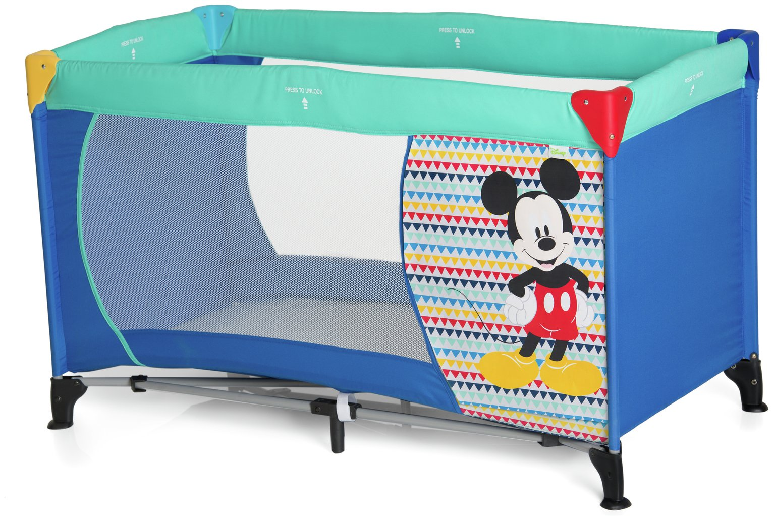 Image of Disney Baby Dream 'n Play Mickey Mouse Travel Cot