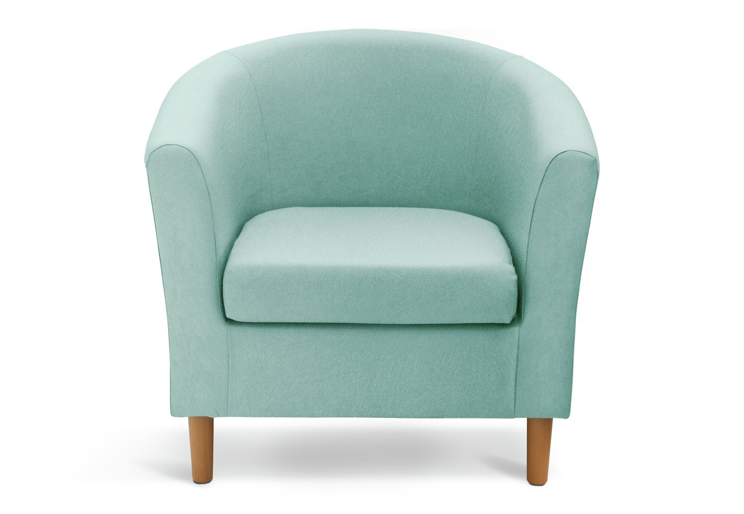 Argos Home Fabric Tub Chair - Duck Egg