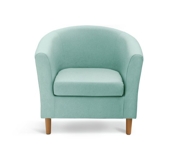 buy argos home molly fabric tub chair duck egg armchairs and