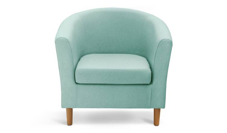Buy Argos Home Fabric Tub Chair Duck Egg | Armchairs and chairs | Argos