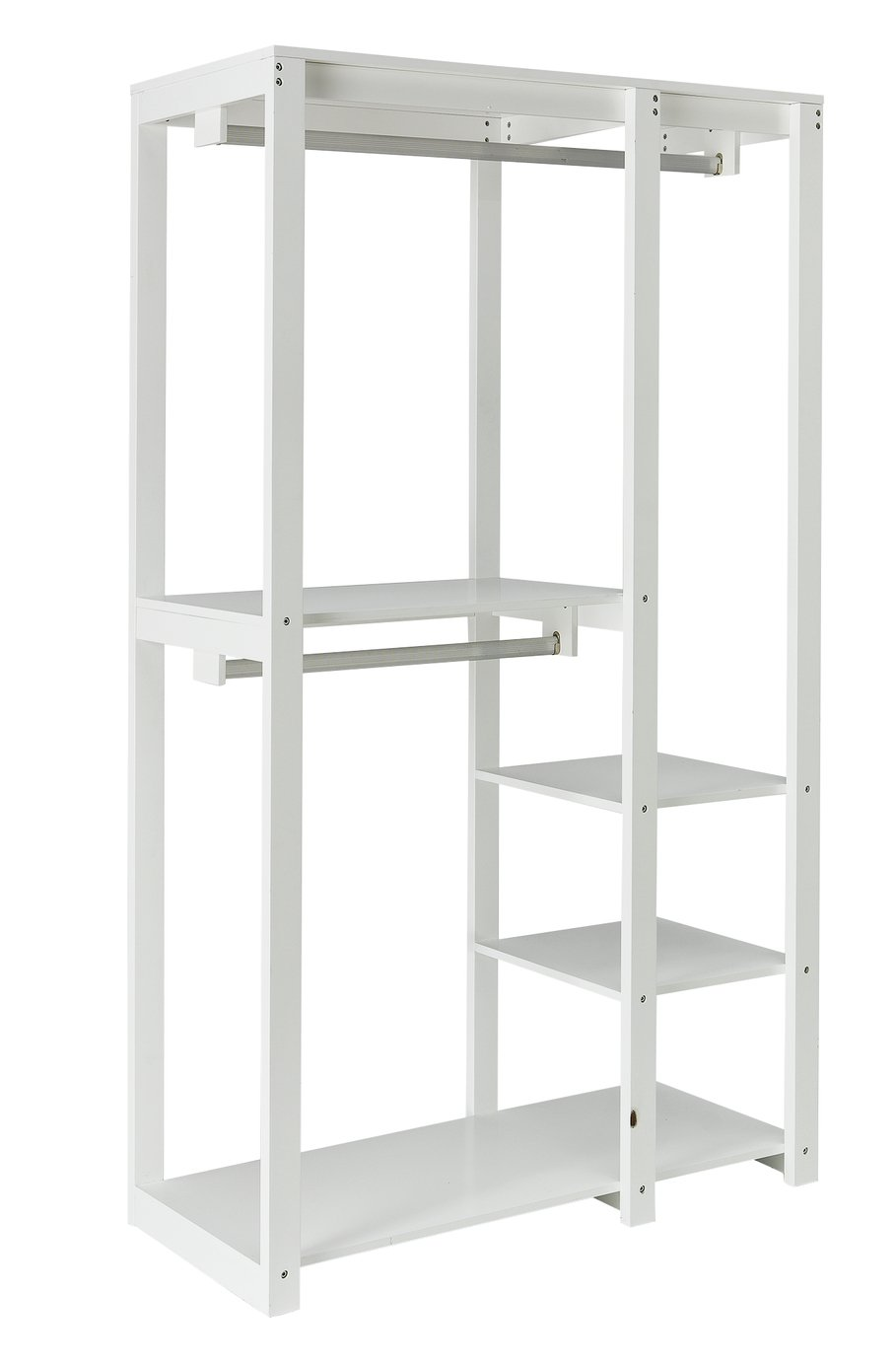 Argos Home Open Decorative Wardrobe Unit - White