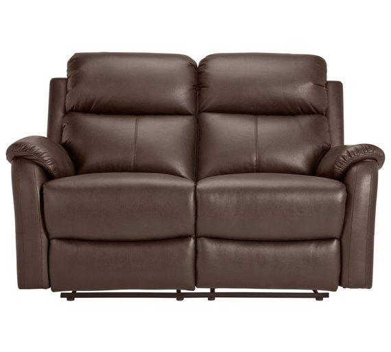 Argos Brown Leather Recliner Sofa Brokeasshome Com