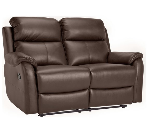 Argos Brown Leather Recliner Sofa Brokeasshome Com