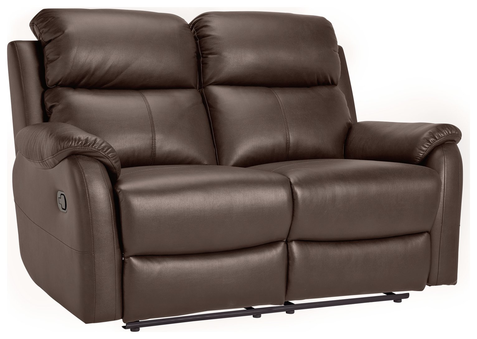 Buy Argos Home Tyler 2 Seater Leather Recliner Sofa Chocolate
