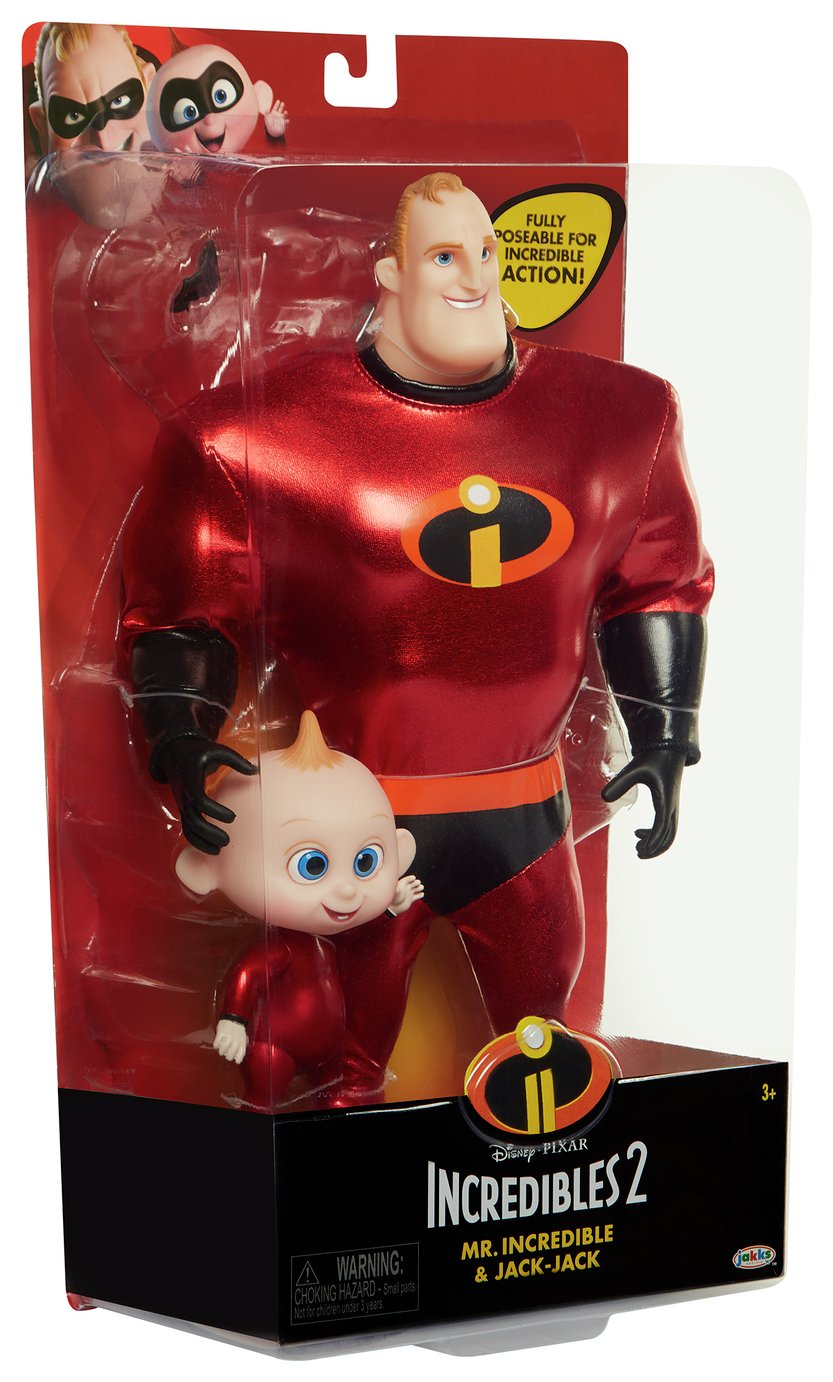 Mr. Incredible and Jack-Jack Costumed Action Figure