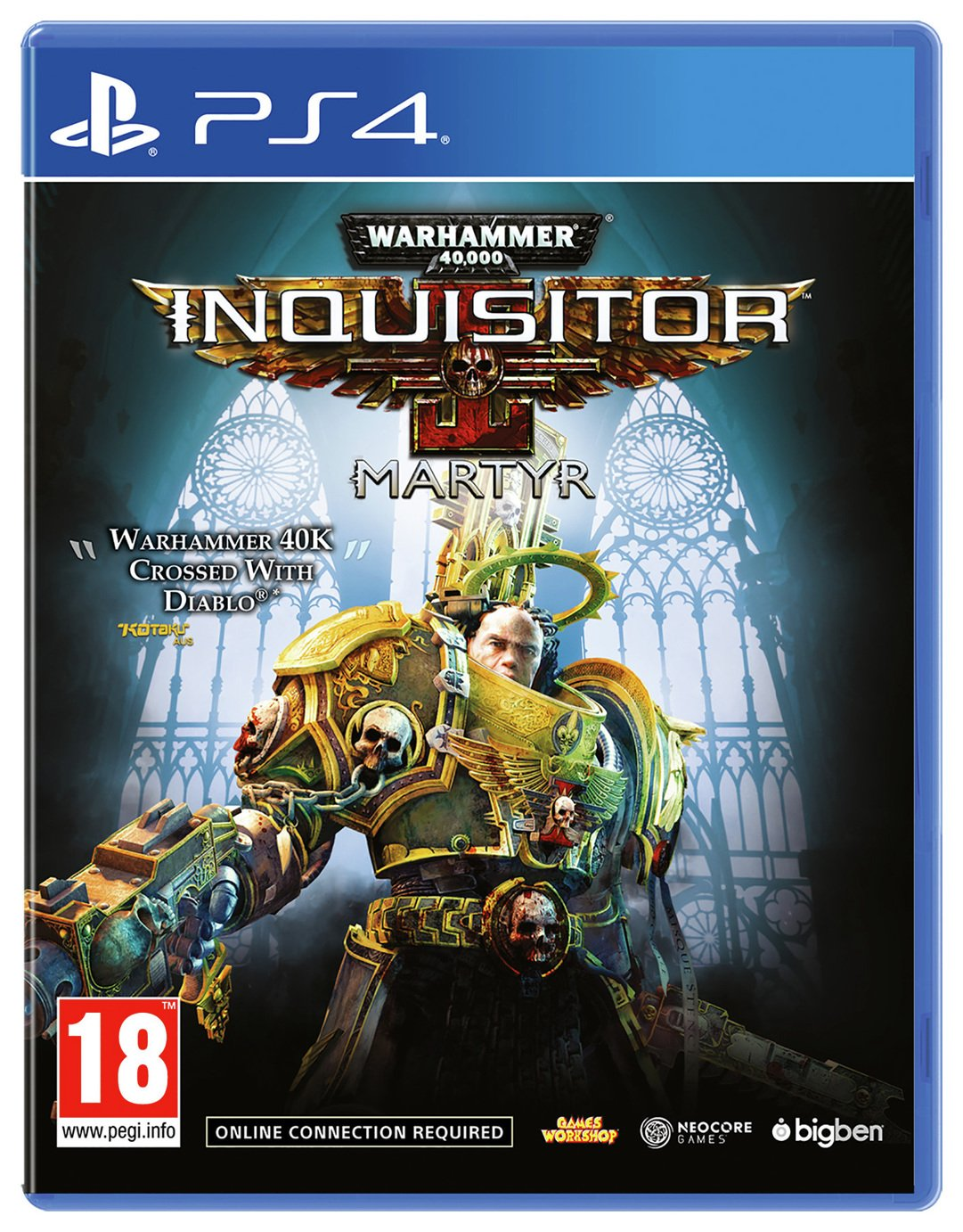 WH40K Inquisitor Martyr PS4 Game