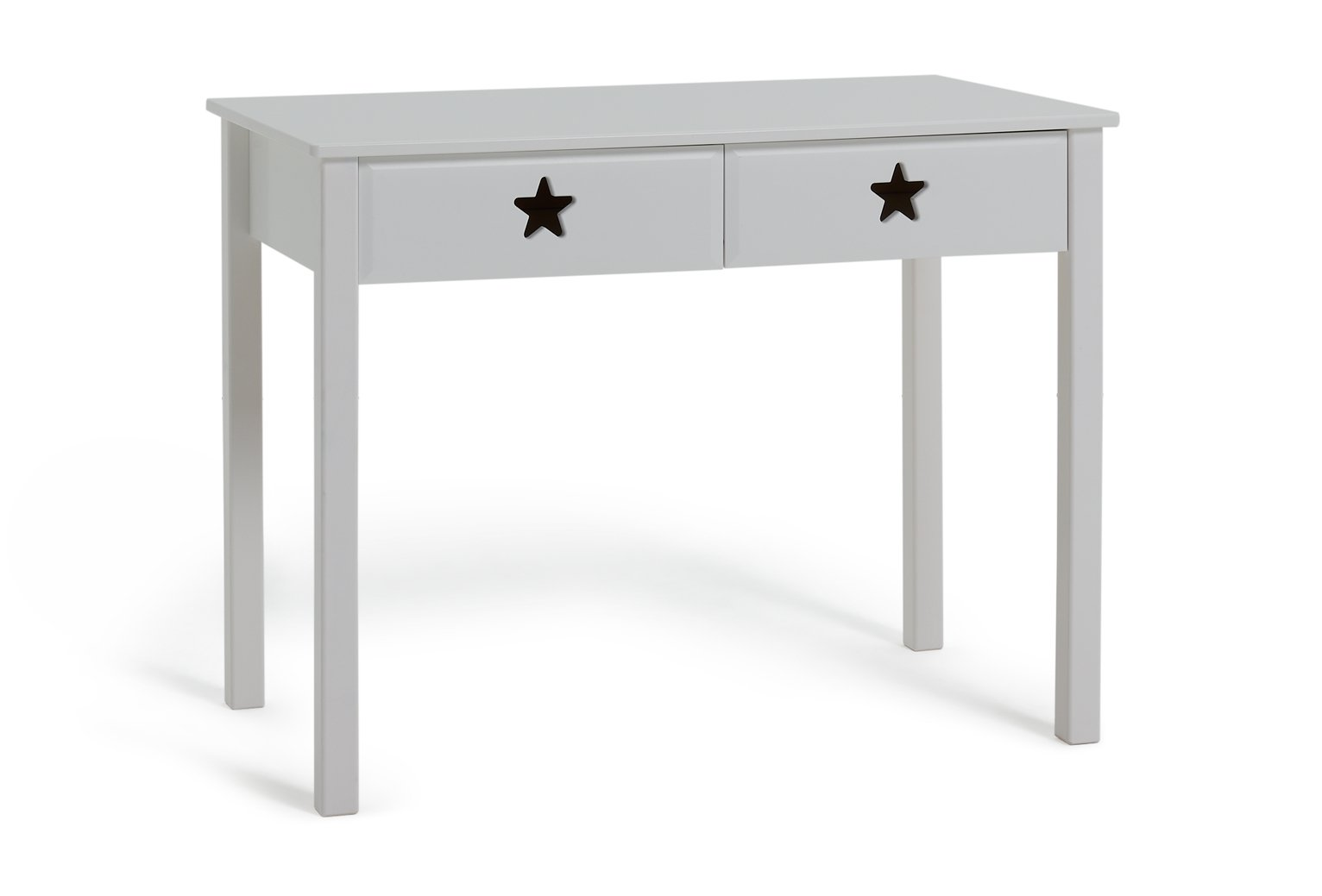 Argos Home Stars White 2 Drawer Desk