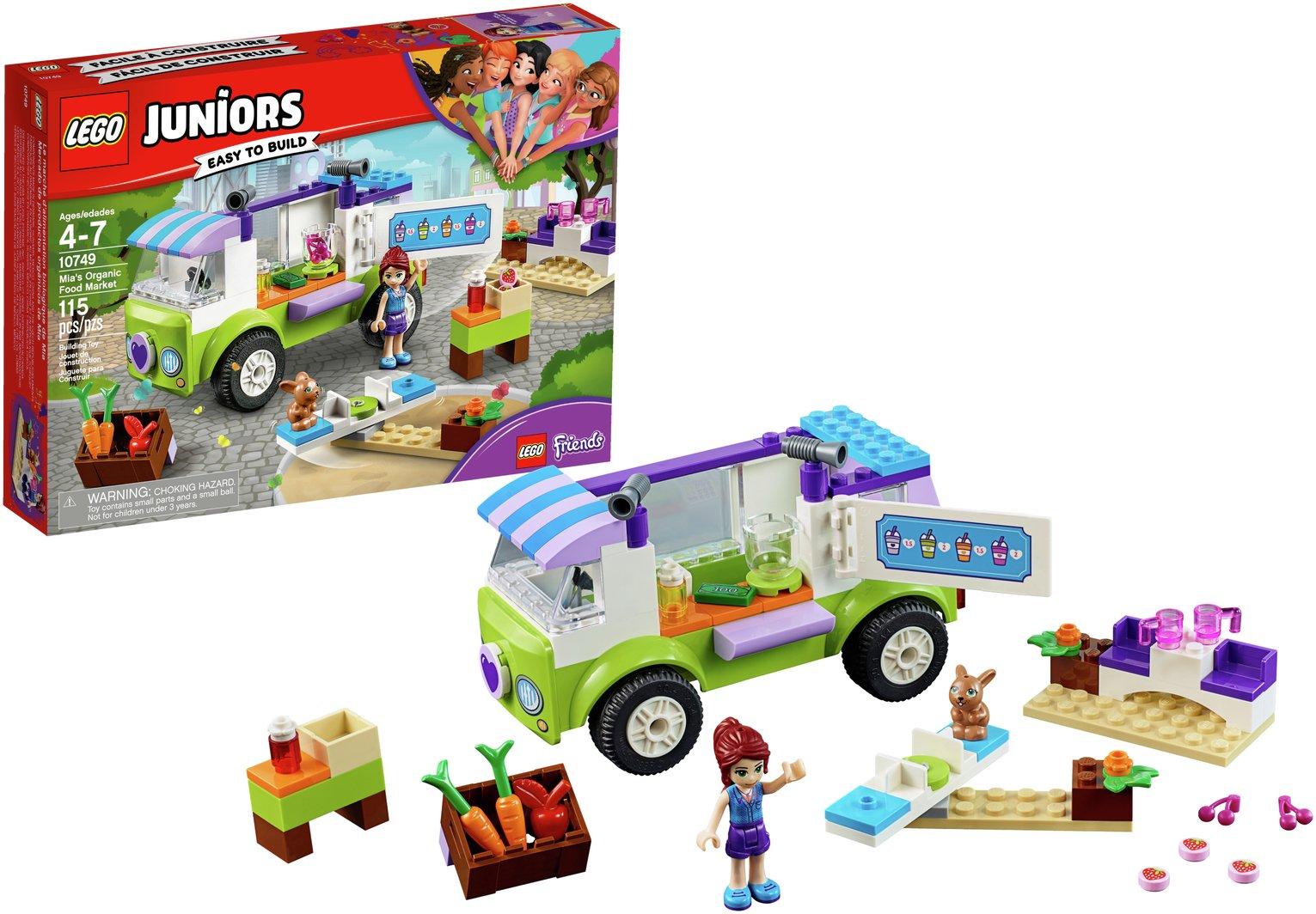 LEGO Junior Mia's Organic Food Market - 10749