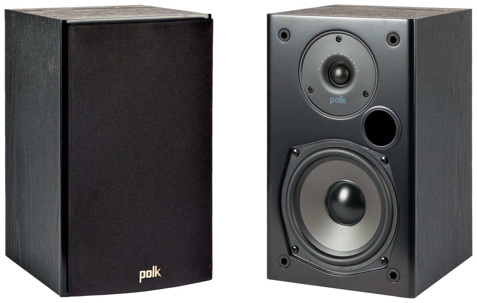 Polk Audio T15 Home Theatre and Music Bookshelf Speakers