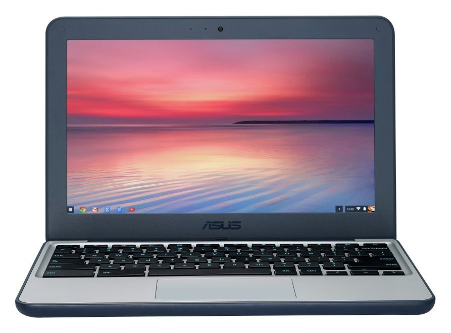 Image of Asus 11.6 Inch Celeron 2GB 16GB Chromebook - Grey