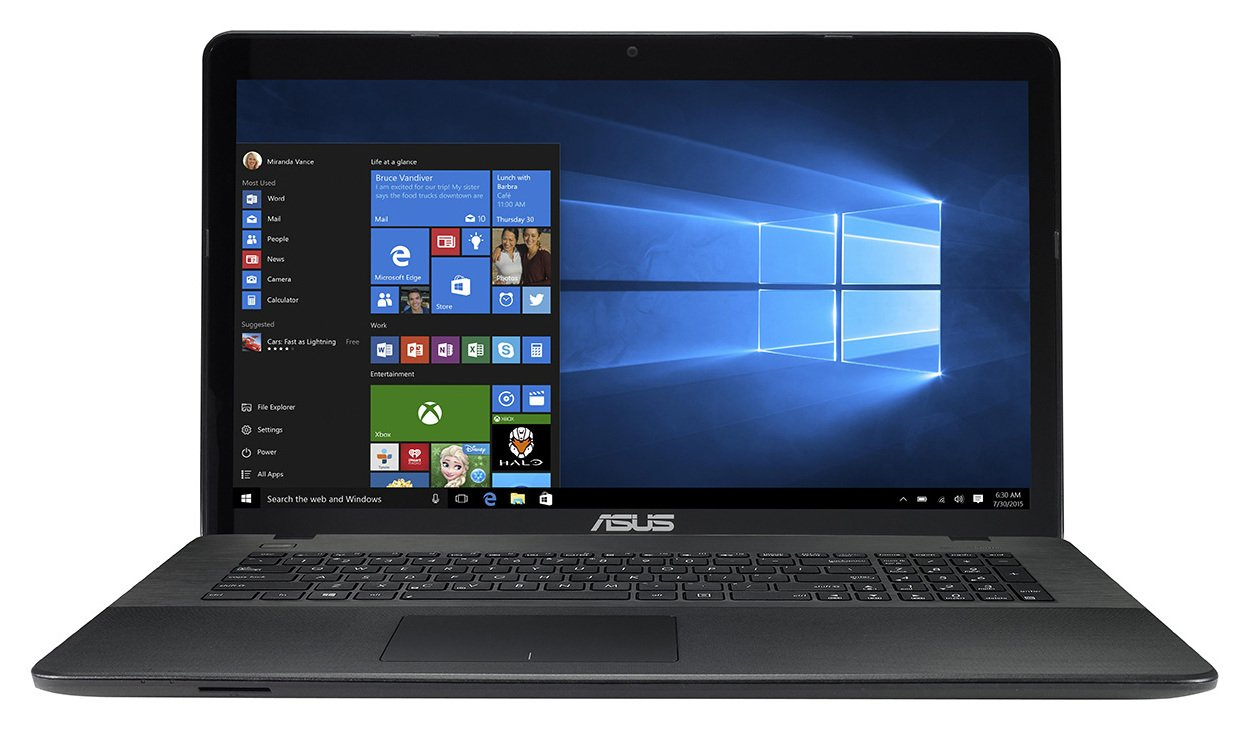 Sale On Asus 17 3 Inch Celeron 8gb 1tb Laptop Black