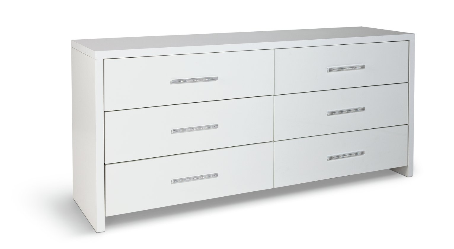 Argos Home Broadway 33 Drawer Chest White Gloss White
