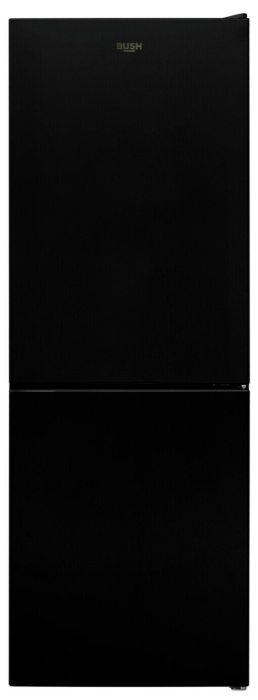 Bush 54152B Frost Free Fridge Freezer - Black Best Price, Cheapest Prices