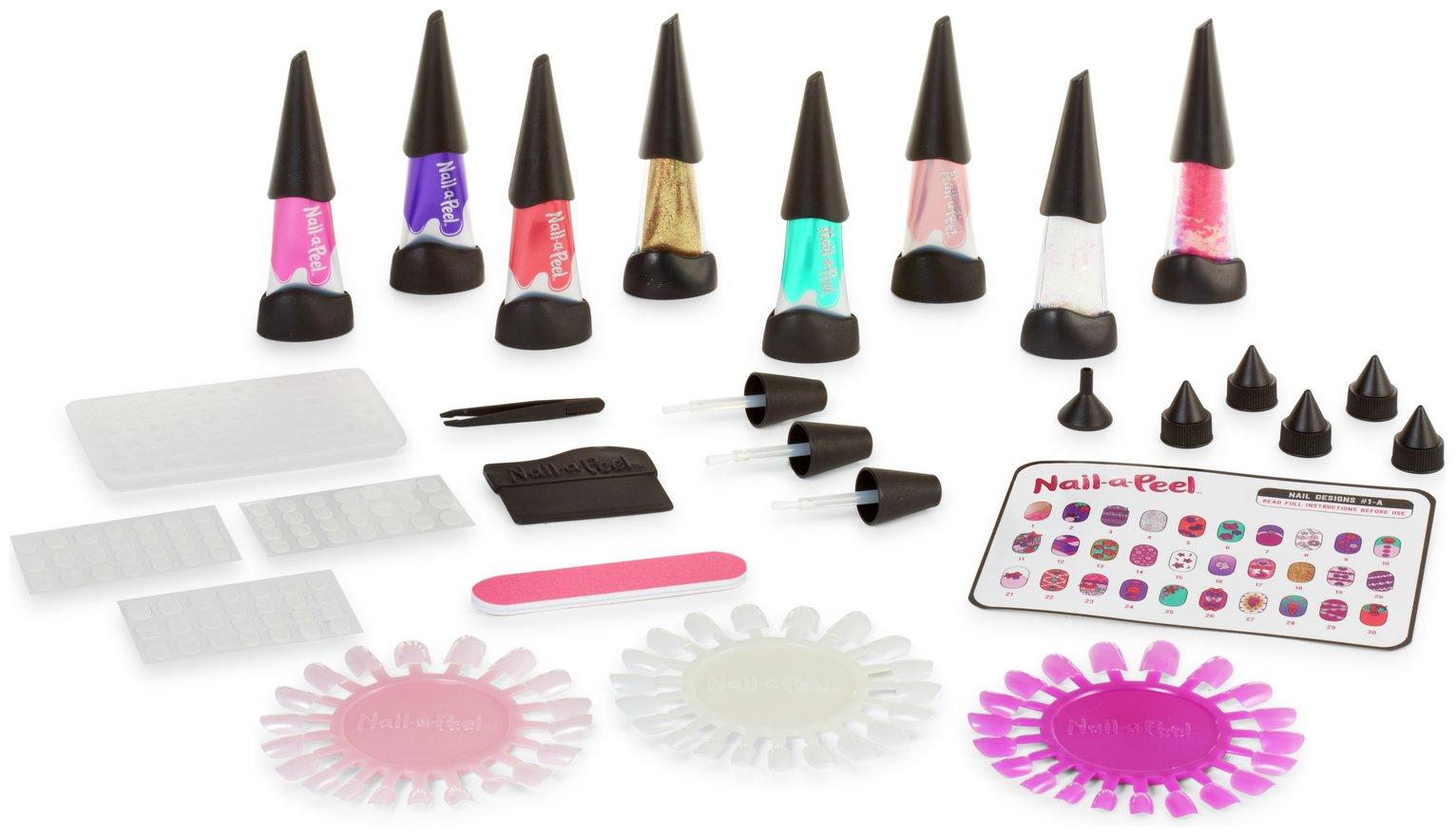 Nail-a-Peel Deluxe Colour Kit