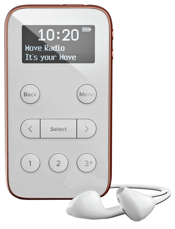 Pure Move R3 Personal DAB+/FM Radio - White