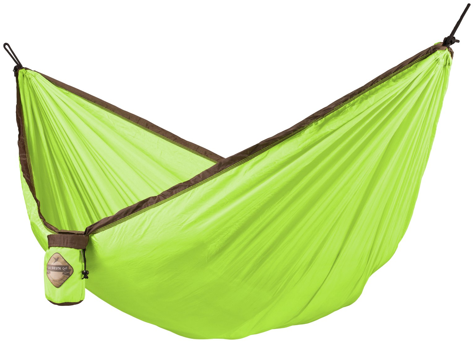 La Siesta Single Travel Colibri Hammock - Green