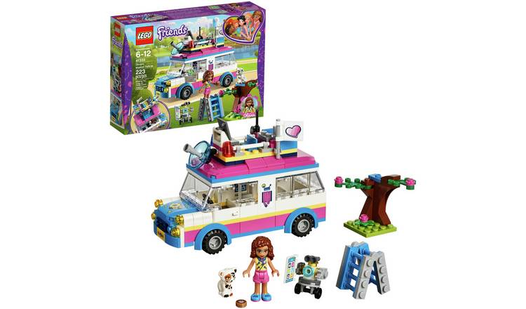 Buy Lego Friends Heartlake Olivias Mission Vehicle Toy 41333