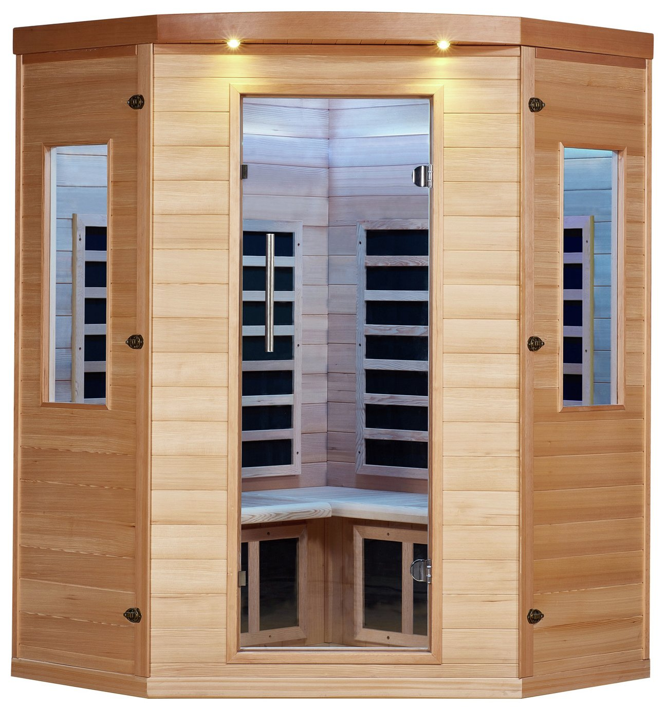 Image of Canadian Spa Aspen 4 Peson Far Corner Sauna - 50HZ