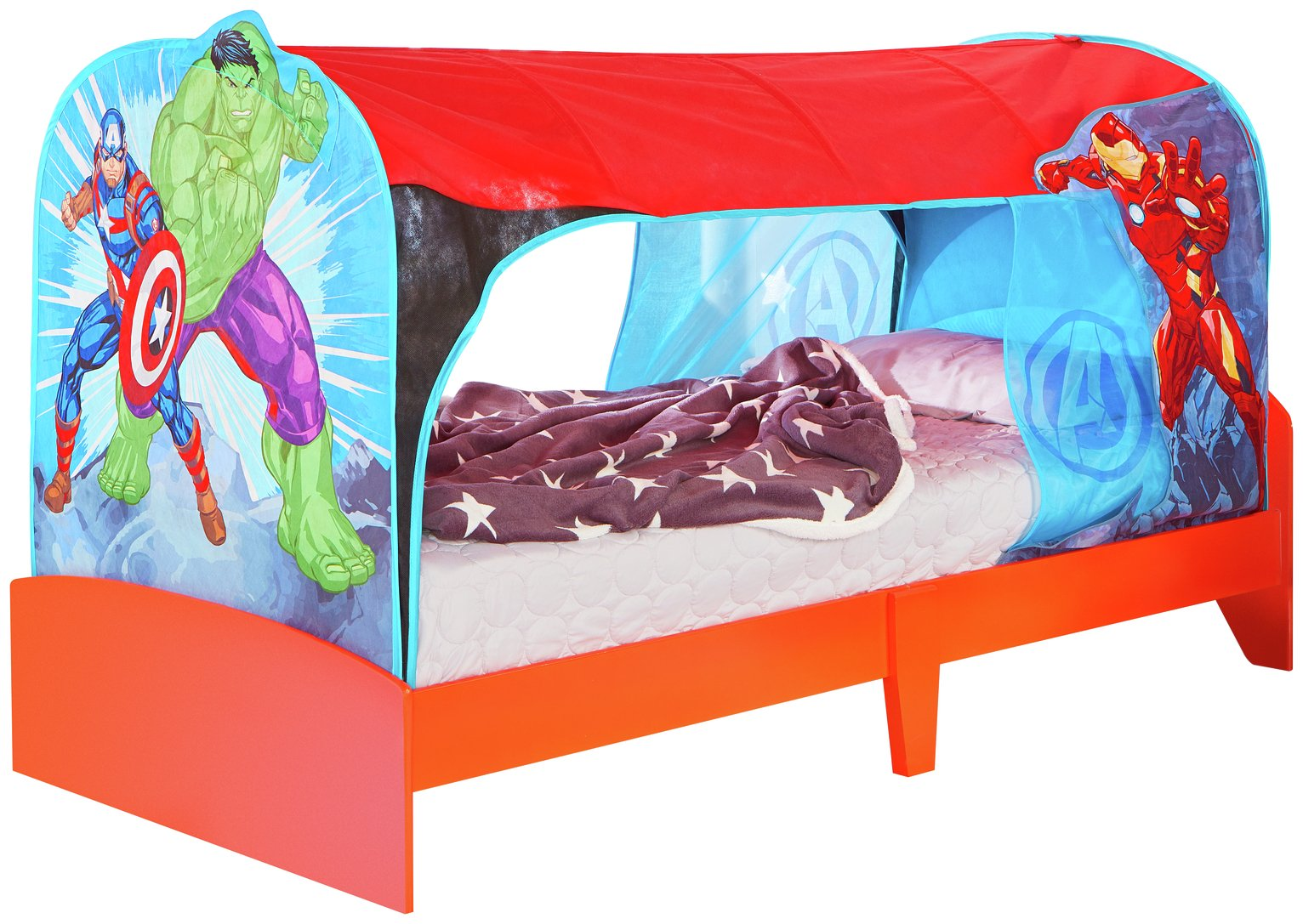 Marvel Avengers Single Over Bed Tent Den