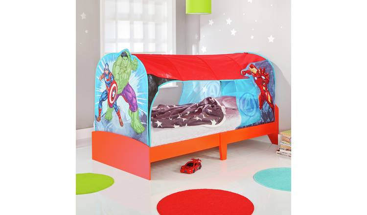 Buy Marvel Avengers Single Over Bed Tent Den Kids Beds