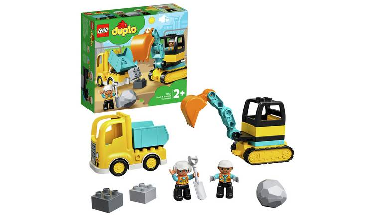 LEGO DUPLO Town Truck & Tracked Excavator Set -10931