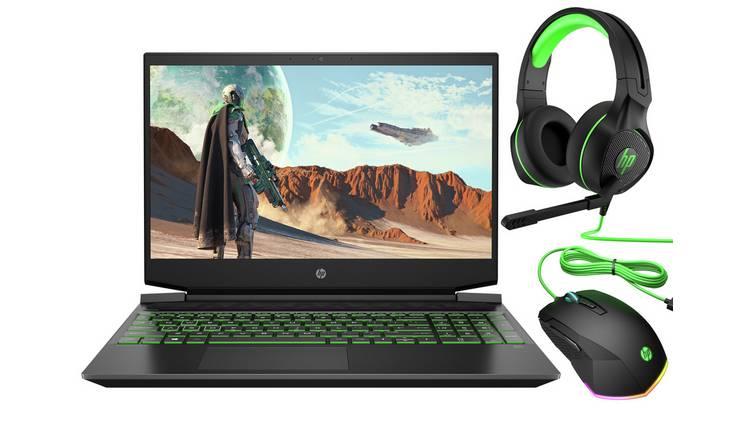 Buy Hp Pavilion 15 6in Ryzen 7 8gb 512gb Gtx1660ti Gaming Laptop Gaming Laptops Argos