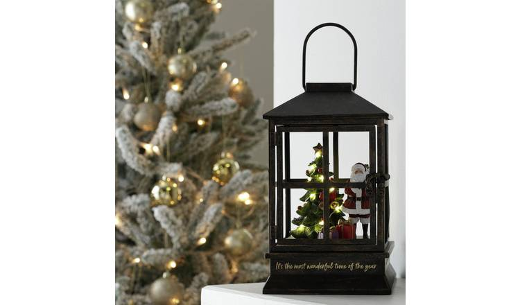 Argos Home Enchanted Christmas Father Christmas in Lantern