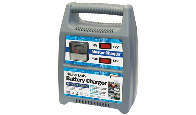 Streetwize 12 Amp 12V Automatic Battery Charger.