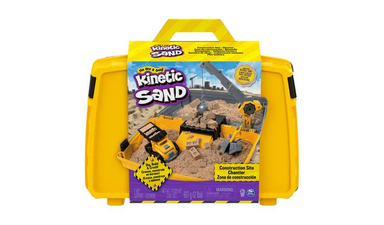 Kinetic Sand Construction Box Playset