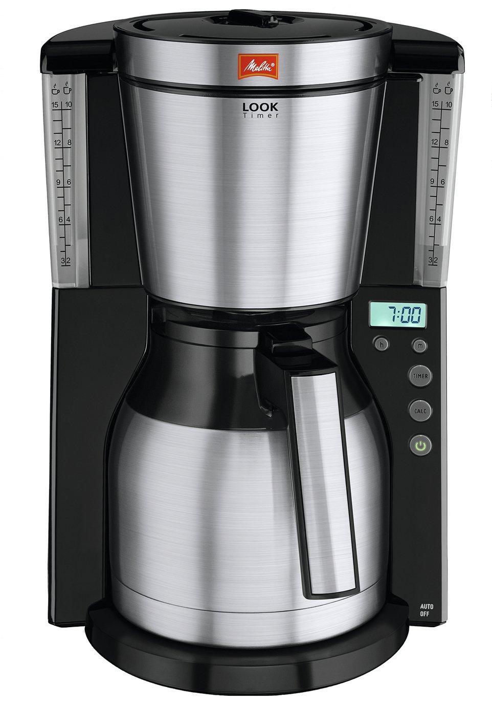 Melitta 1011-16 LOOK Thermal Timer Filter Coffee Machine