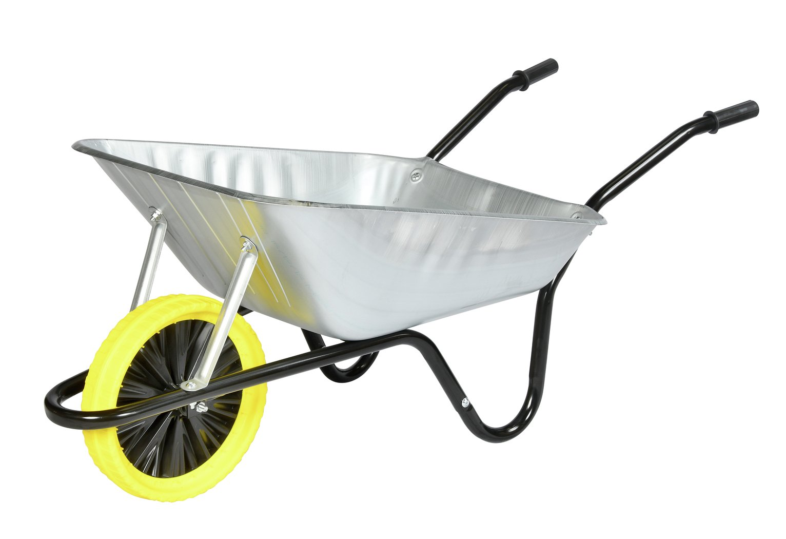 Walsall 85L Galvanised Builders Wheelbarrow