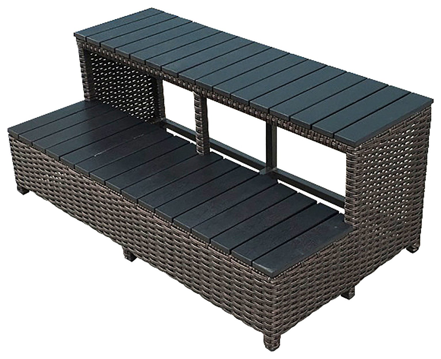 Canadian Spa Wicker Spa Steps 86 inch at Argos review