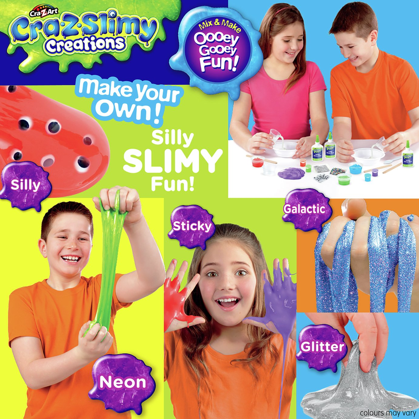 Image of Cra-Z-Slimy Deluxe Slime Kit
