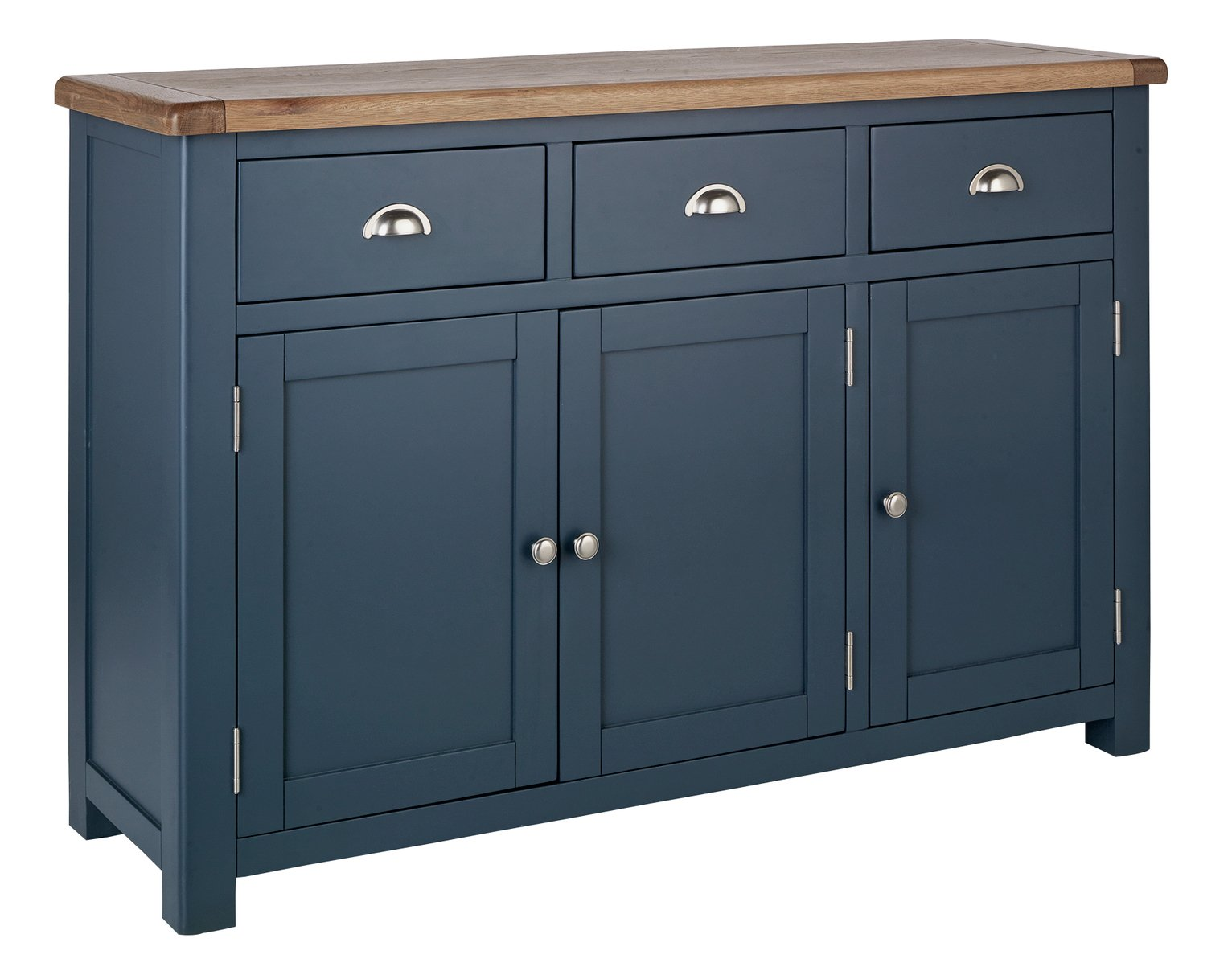 Argos Home Kent 3 Door Large Oak Veneer Sideboard review