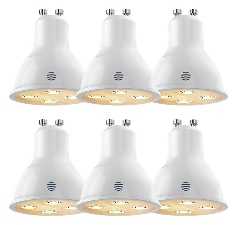 Image of Hive Active Light Dimmable GU10 - 6 Pack