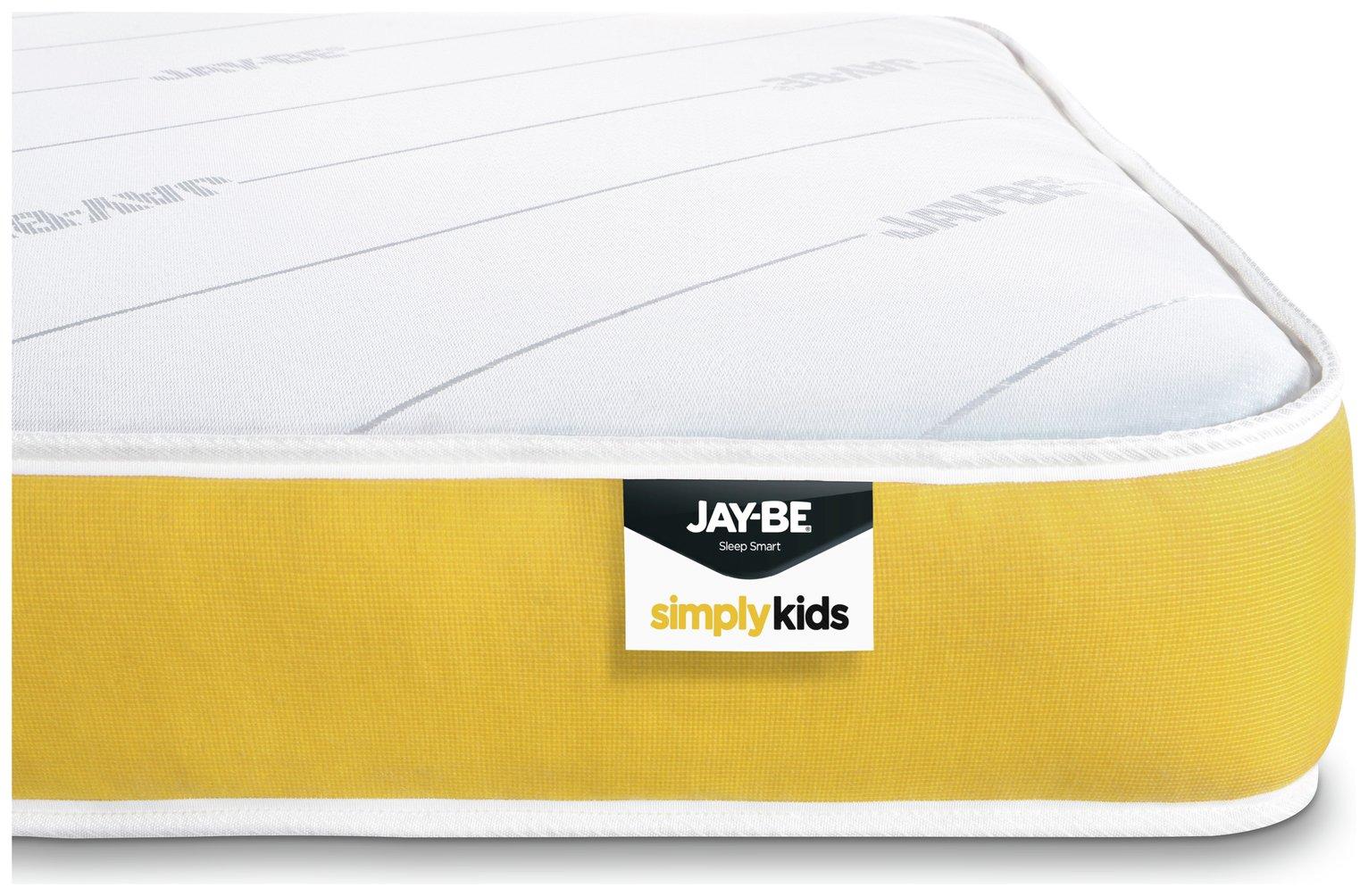 JAY-BE Pocket Sprung Kids Single Mattress at Argos review