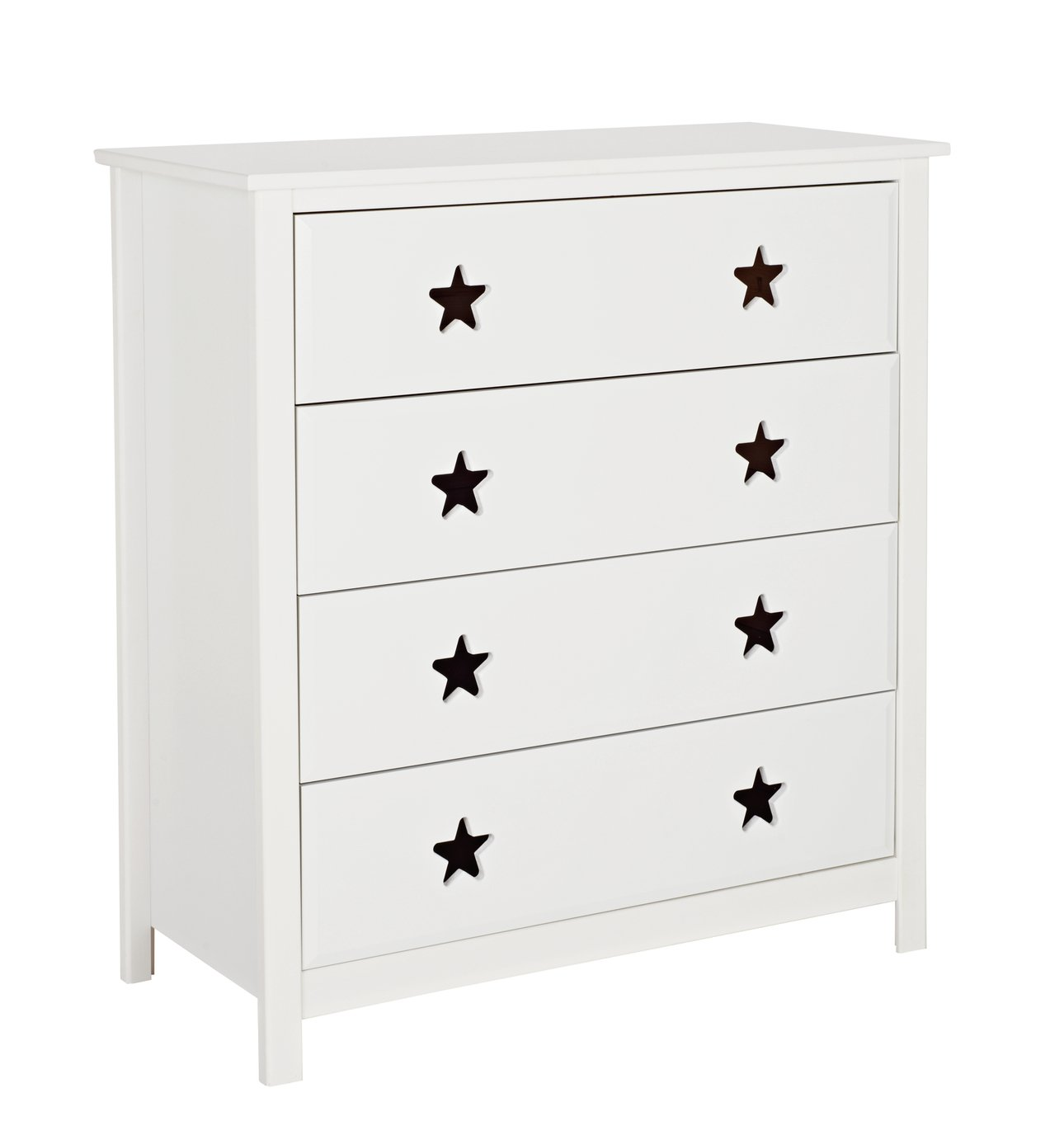 Argos Home Stars White 4 Chest of Drawers review